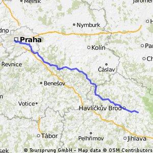 Praha Smíchov -> Přibyslav