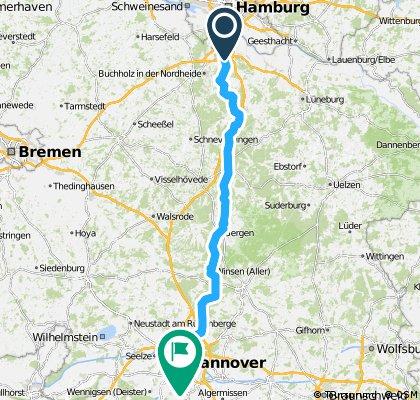 Team WEISSER RING on Tour 2013_1.Etappe_Hamburg - Hannover