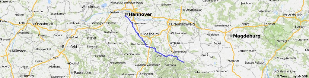 Team WEISSER RING on Tour 2013_2.Etappe_Hannover - Wernigerode