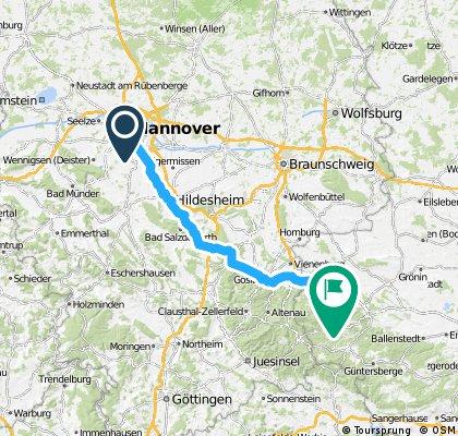 Team WEISSER RING on Tour 2013_2.Etappe_Hannover - Wernigerode