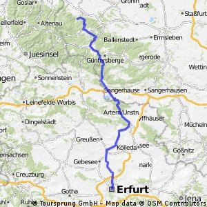 Team WEISSER RING on Tour 2013_3.Etappe_Wernigerode-Erfurt
