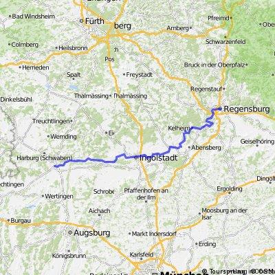 Team WEISSER RING on Tour 2013_7.Etappe_Regensburg - Donauwörth