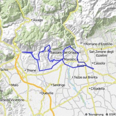 Camisino Vecchio, Valle di Sotto, Lusiana, Rosina