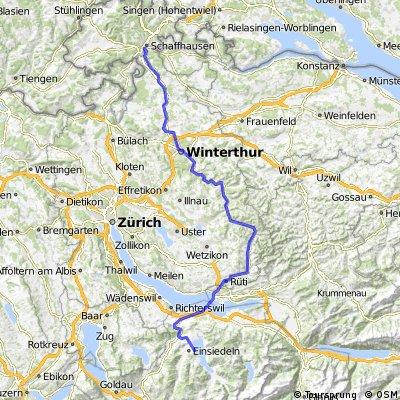 Flurlingen - Einsiedeln