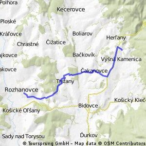 Rozhanovce - Vyšná Kamenica/Jazero