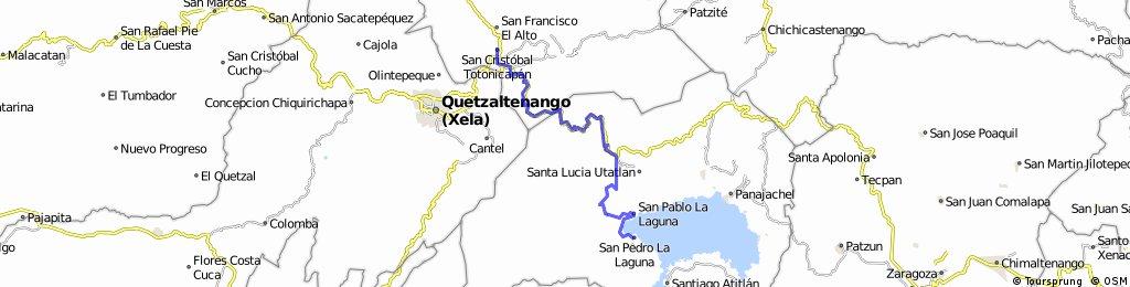 Deuxième étape - Lago Atitlan