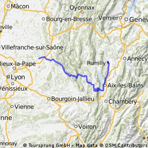 Rumilly-Meximieux(Mont-du-Chat)