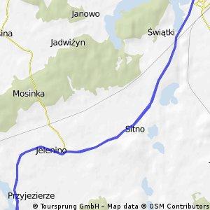 Irontriathlon Szczecinek - pętla