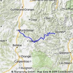 Montélimar-Nyons-Valdrome