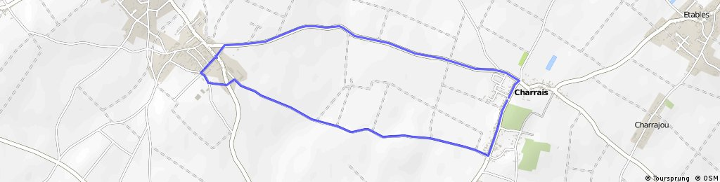 charrais running 1