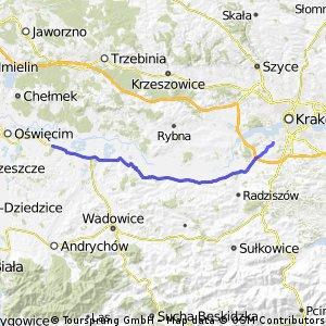 Kraków Przeciszów Kraków
