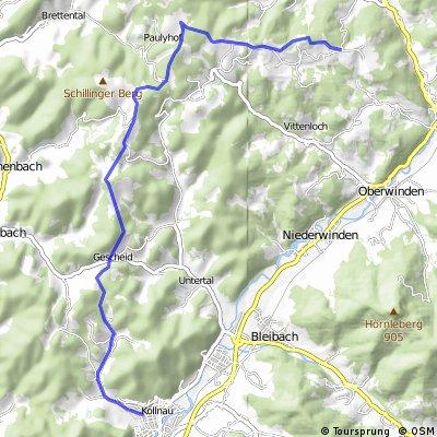 Kollnau - Elzach
