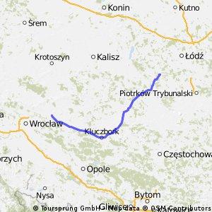 III Supermaraton Jastrzębi Łaskich 2013 /fragment trasy ULTRA 415 km/