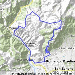 Cima Grappa - Trail 20/36