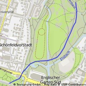 Munich - To English Garden