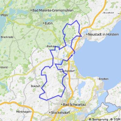 85 km Pariner Berg und Gömnitz