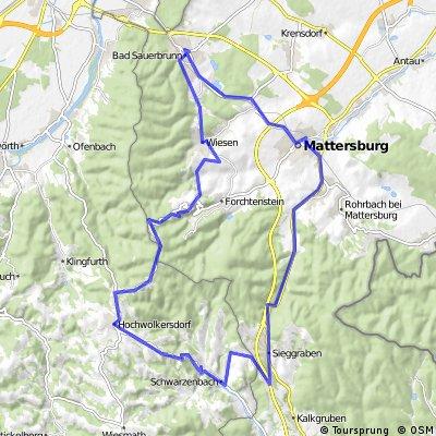 Bad Sauerbrunn - Forchtenstein-Sieggraben-Mattersburg
