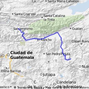 Vuelta a Guatemala Fantasy: Etapa 6 ** Esquipulas- Cerro de la Santa Cruz 202,08 kms