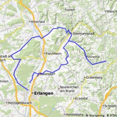 Obertrubach-Feuerstein-Adelsdorf