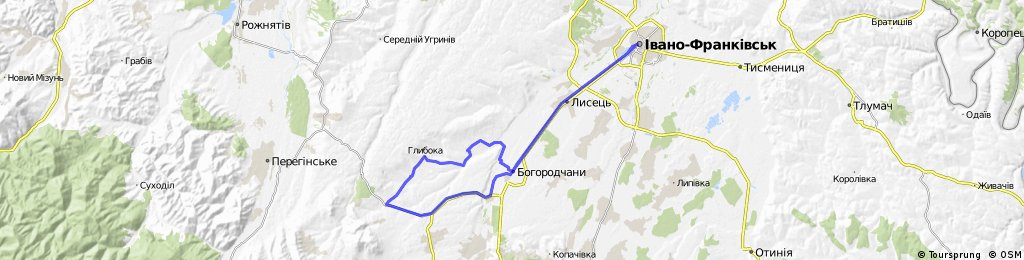 """Veloprobig """"Prykarpattya zbyrae druziv"""" 2013"""
