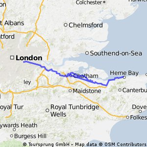 London to Herne Bay