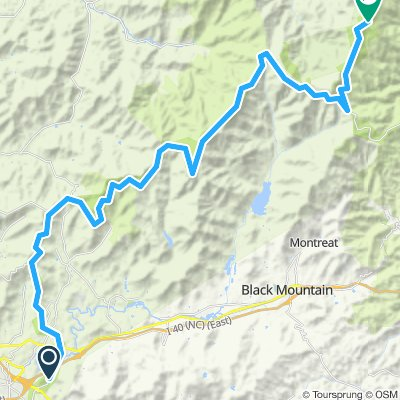 Asheville - Mount Mitchell Climb
