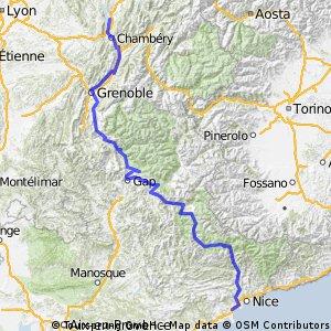 Nizza - Aix Le Bains