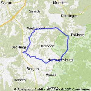 Tuor Wietzendorf Hermannsburg (43KM)
