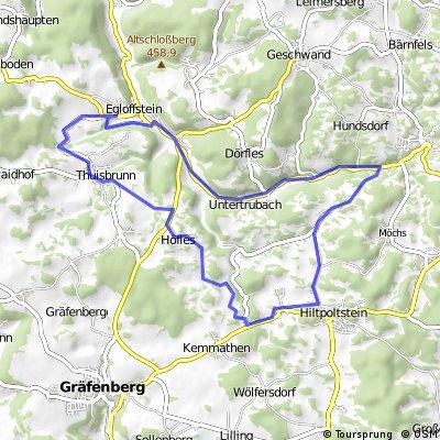 Trainingsrunde 2013-06-16 (ca. 23km)