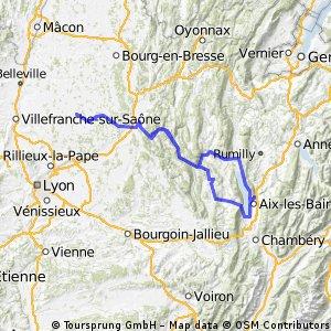 Vacances Vélo 2013 Aller-Retour