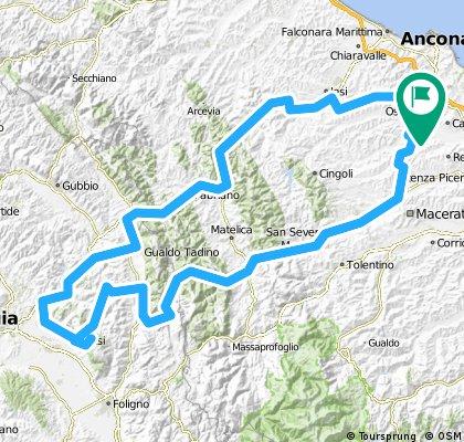 Osimo-Assisi (e ritorno, speriamo)