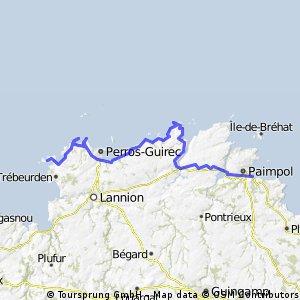 Paimpol - Ile Grande 11.06.2013 / 4th Stage