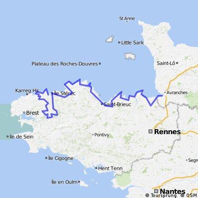 Tour de Brittany 2013 (8 Stages)