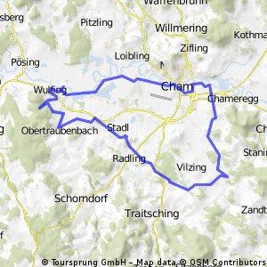 Pilgerradweg Cham