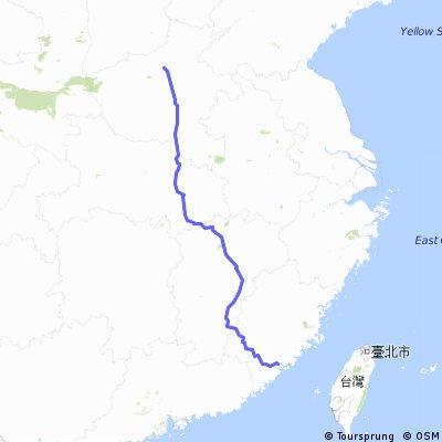 郑州-厦门