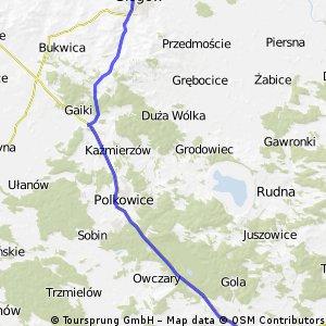 Głogów - Lubin
