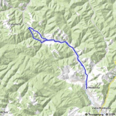 Moldovita - Brodina GPS