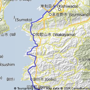 Ronde van Honshu etappe 1 Takaishi - Inami