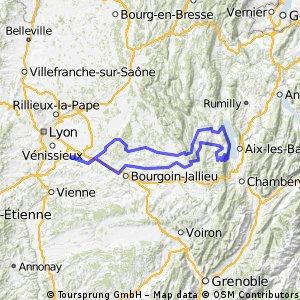 Lac du Bourget - 225 Km