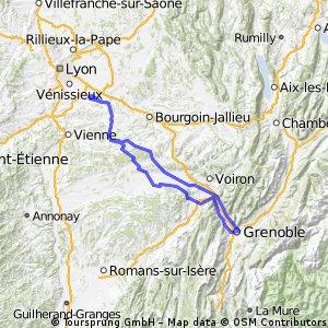 Grenoble - 200 Km
