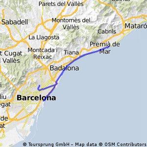 Barcelona - Mataro beach