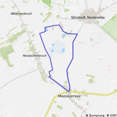 Moorausmoor Rundweg Stinstedter See