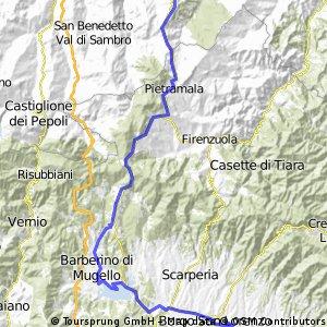 Umbria 2013 2. giorno Loiano- Borgo S. Lorenzo