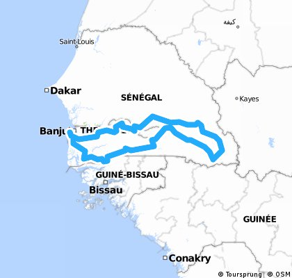 Oost en Zuid Senegal 1