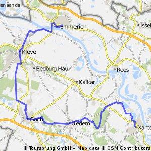 Radeln am Niederrhein