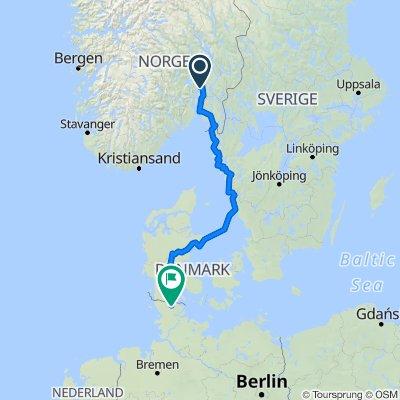2013 Norwegen (Oslo) - Schweden - Dänemark