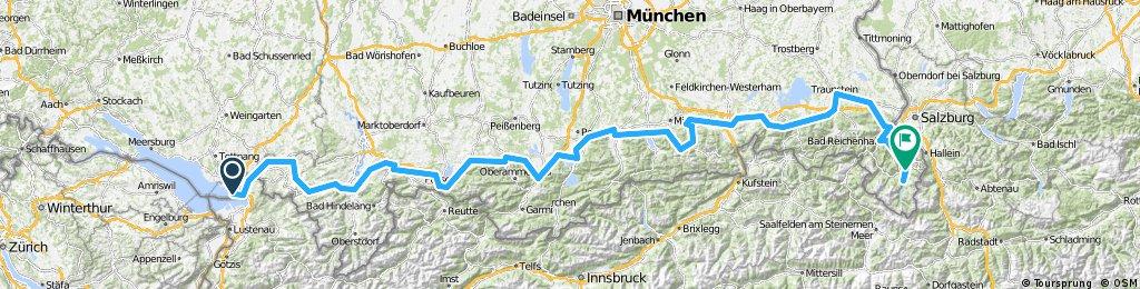 Bodensee-Königssee-Radtour (Individuell)