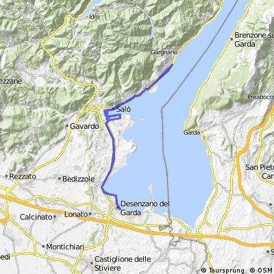 Gardasee: Piccolo Paradiso/Toscolano-Maderno/Salo/Desenzano/=>Salo/Porto-Portese/Salo/Toscolano-Maderno/Cecina/Piccolo Pardiso