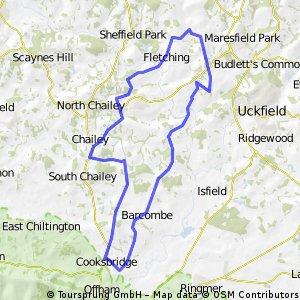 Barcombe 20 mile loop