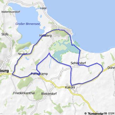 Radwanderweg zu archäologischen Denkmälern rund um Lütjenburg